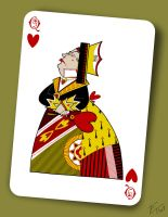 The Queen of Hearts by edgar1975