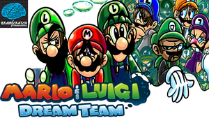 BSC Mario and Luigi Dream Team by HeroArt110