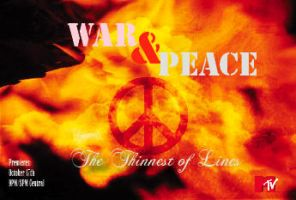 The Thin Line of War and Peace by deadserenity