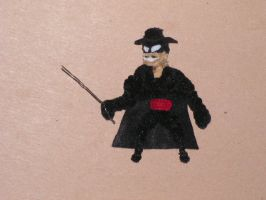 Zorro by fuzzyfigureguy