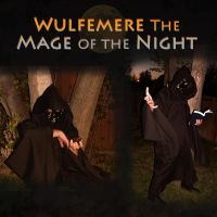 Wulfemere the Mage of the Night by pikminpedia