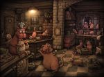 cats Kitchen by samuel123