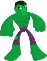 The Hulk by yarrbunny