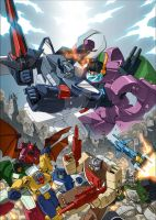 TRANSFORMERS: HEADMASTERS by GuidoGuidi