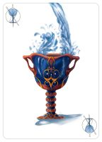 Water Calice - Playing Card: Ace of Goblet by BiPiCado