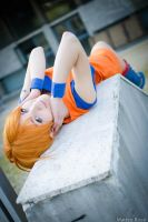 Nami crossover , Dragonball Z x One Piece cosplay by Mellorineeee