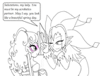 Dimentio Meets Mimi by MoonWarriorAutumn