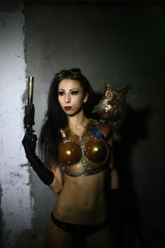 Steampunk girl by LenaCostumes