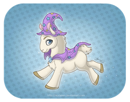 THE GREAT AND POWERFUL LLAMA! by MySweetQueen