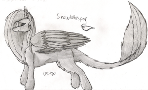 Full-body Shadow withour colors: ShowWhisper by LPS100
