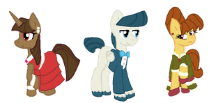 MLP Fancy Adopts by Honey-PawStep
