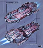 Bulldog Light Cruiser by KaranaK