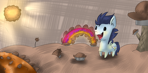 Soarin in pie land Reuploaded by rumbletree6