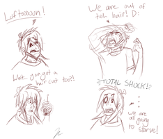 NOT TEH HAIRS D: by Jovey4