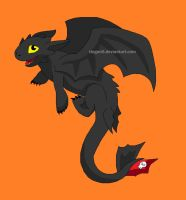 The Toothless by Tiegan5