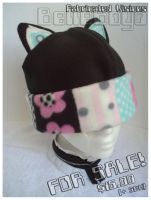 Flowery Cute Cat Hat -- $$ by BelleBoyd
