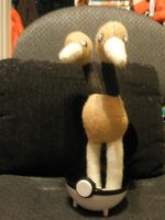 Doduo Plush by Vulpes-Canis