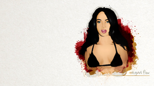Megan Fox HD Wallpaper by JSWoodhams