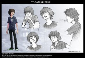 The Gatekeepers - Sebastian Thorne by Manweri