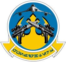 Gunfighters Squadron Insignia by viperaviator