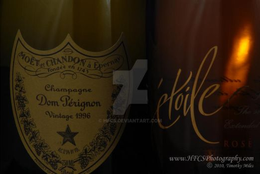 Dom Perignon and Etoile by HFCS