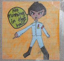 Ishimaru: No Running in the Hall! by TheHunter56
