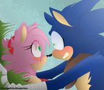 Sonic and Amy ..Boom.. by CoalPatchOfDuskClan