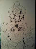 Captain America by DamageArts