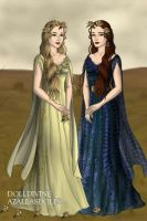 Demeter and Persephone by EriksAngelOfMusic22