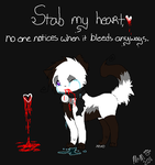 Stab me. by MorningDesiree