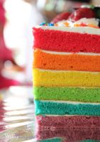 The rainbow of cake by choisiwona