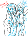 chat time with skwisgaar and lara-wip by FirePhantasma