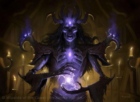 Graven Lich - MtG by namesjames