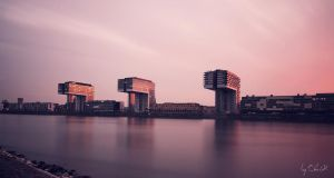 Evening over Cologne by ChrisK-photo