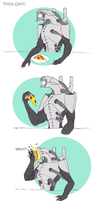 Pizza Geth by AlienAlfredo