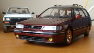 Subaru legacy mk1 1/24 by And300ZX