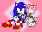 Sonic+and+amy+love+story