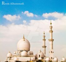 Sheikh Zayed Grand Mosque by princess-reme