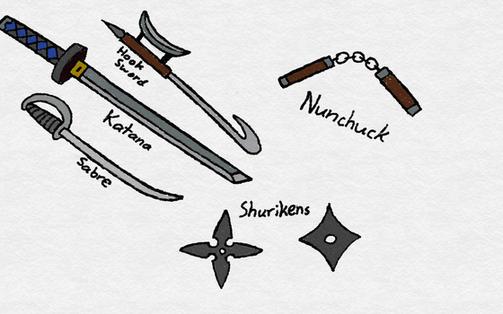 Primitive Weapons by samuraidemonslayer9