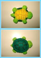 Turtle plush... keychain? by komillia