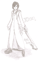 Xion - No.i Sketch Paper by CarnationRose