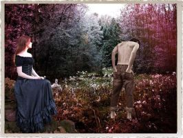 The Lady and the Gardener by 3punkins