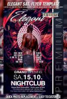 PSD Elegant Saturdays Flyer by retinathemes