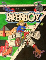 Tribute to Paperboy by DannyNicholas