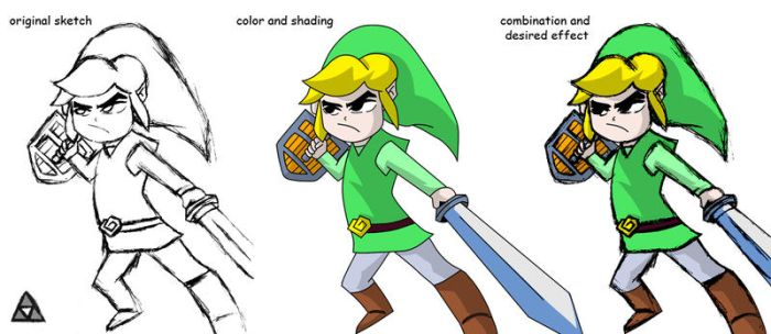 Link (Wind Waker)+ by Whatsome