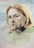 Kurt Cobain / NIRVANA by justinr623