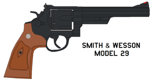 Smith an  Wesson Model 29 by bagera3005
