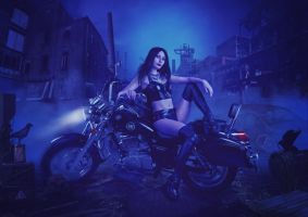 The Biker Chic by charmedy