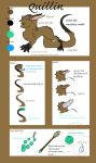 Quillin - Species Sheet by Fucal