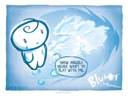 BluBoy: CS - Snow Angels by bluBoyComics